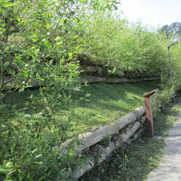 Proyecto básico de drenaje sostenible y control de la erosión y estabilización de taludes mediante técnicas de Bioingeniería para Certificación LEED de la ampliación del restaurante Azurmendi en Larrabetzu (Bizkaia).