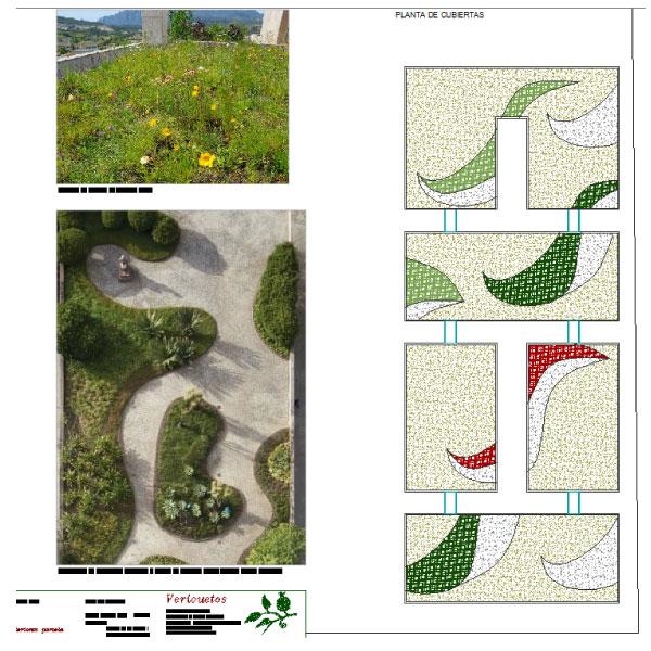 Proyecto de paisajismo de la nueva residencia de estudiantes MORAVAL en Paseo de la Habana, Madrid.